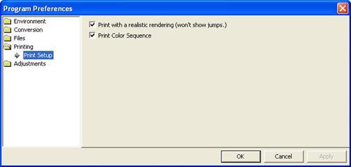 Description CUsersBrianDesktopEmbroideryWorks ManualPrinting Preferences