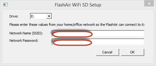Toshiba FlashAir ™ Compatibility
