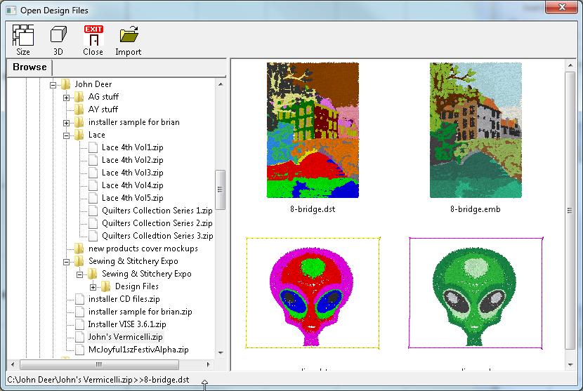 Merge Design Files