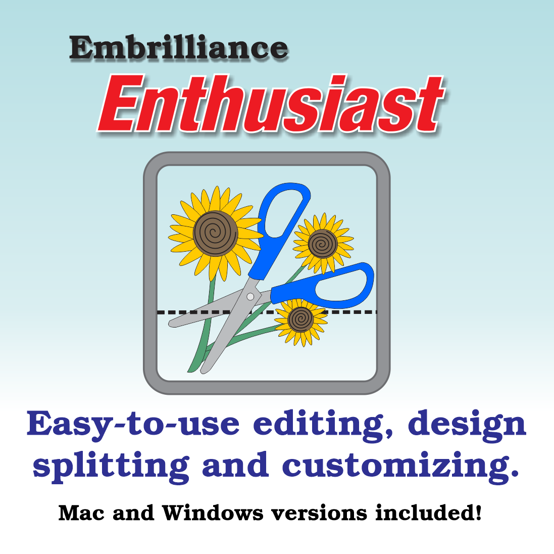 Embrilliance Essentials icon and text.