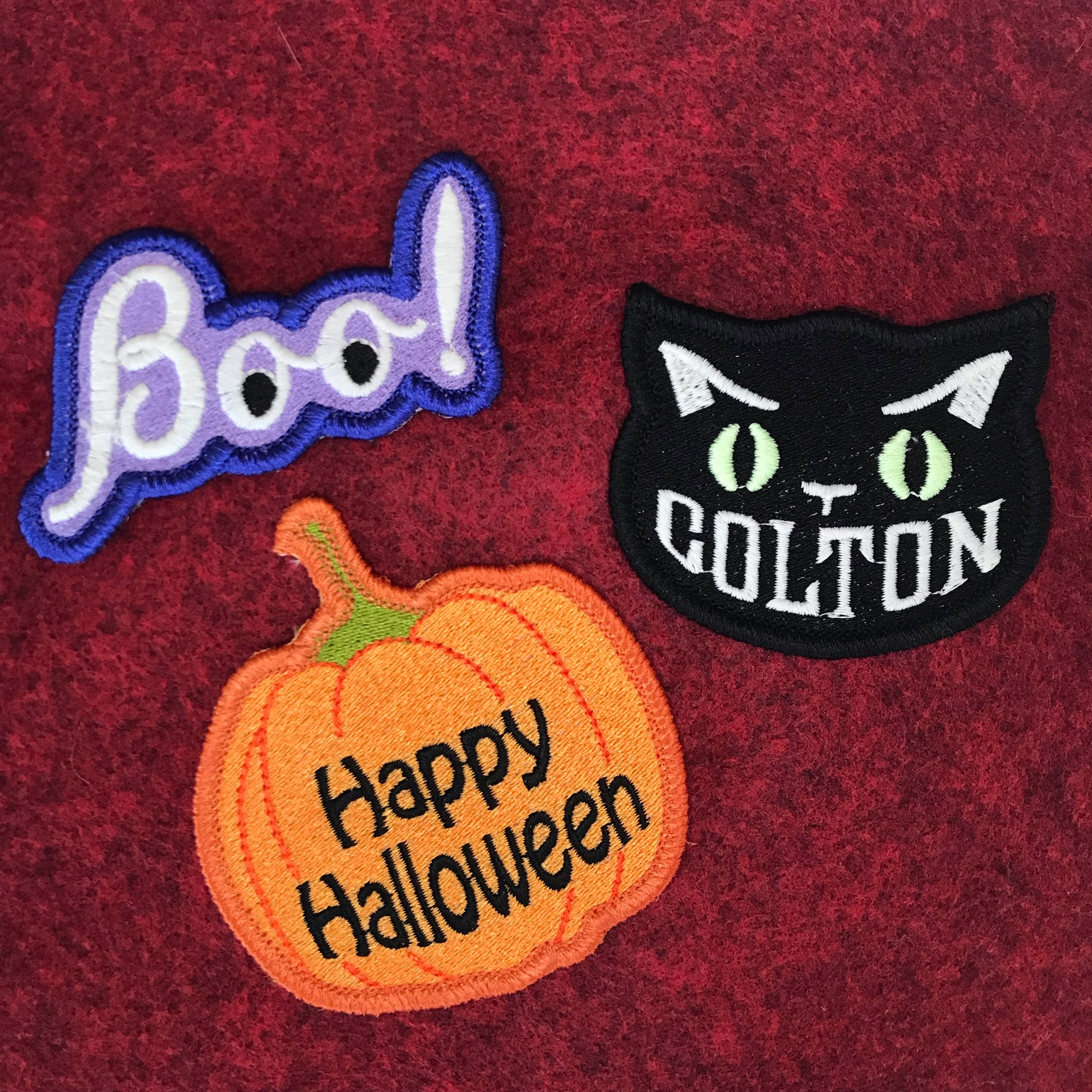 Halloween Patch Library 2021