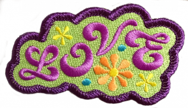 Love countour patch created with 2 clicks using Embrilliance Merrowyl's 'Page Wrap' tool.