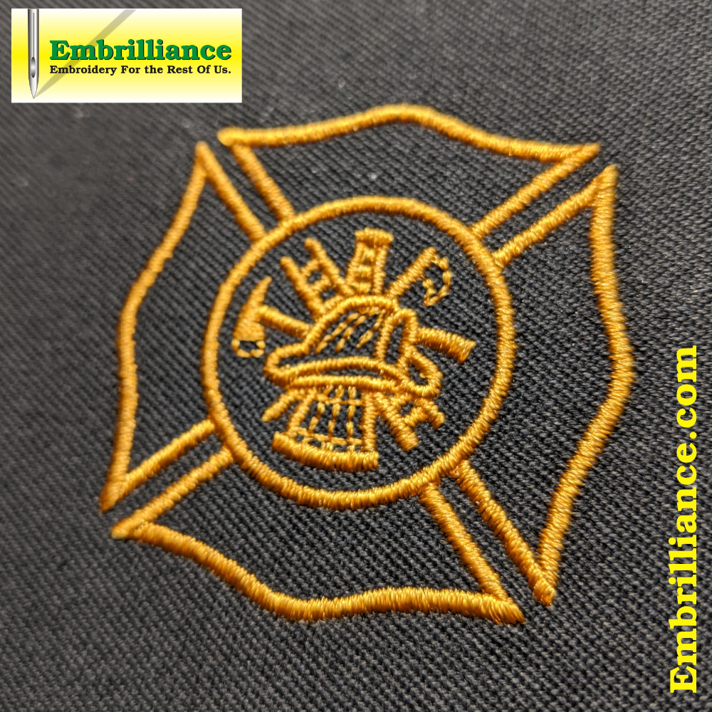 Stay Strong and Stitch On #5 – Firefighters' Maltese Cross