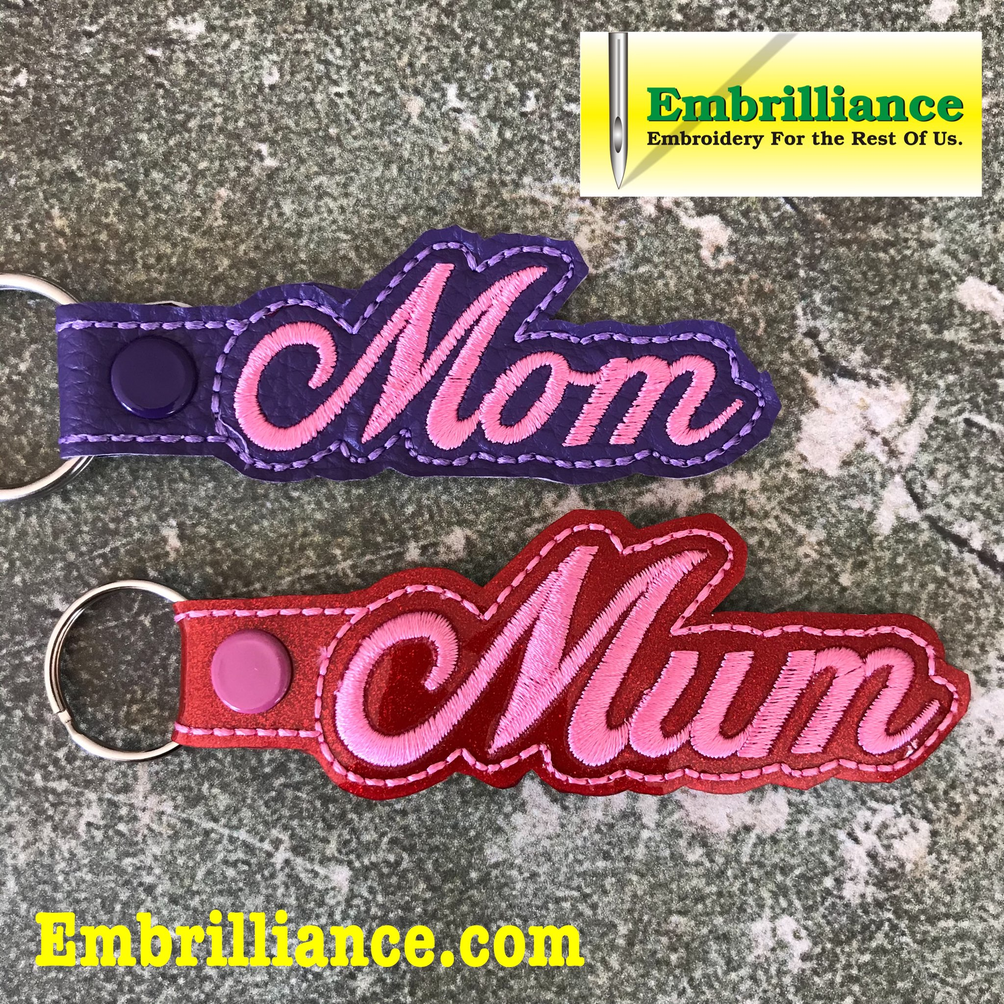 Celebrate Mother's Day with a Free Key Fob design!
