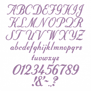 All characters available in Embrilliance Essential's Stuyvesant Font