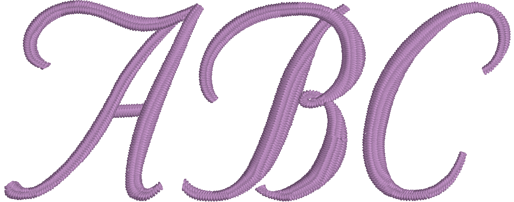 Embrilliance Essentials Native, Object-based Embroidery Font: Stuyvesant